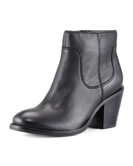 Crazy for Your Leather Bootie
