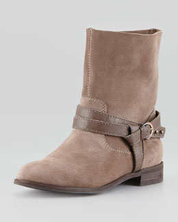 Seychelles Business as Usual Suede Boot, Taupe