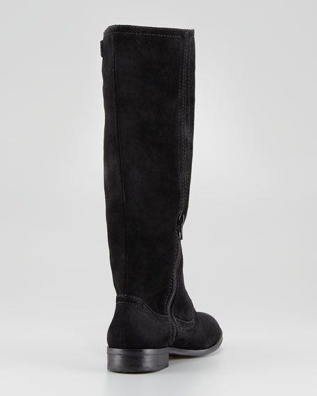 Nothing to Hide Nubuck Boot, Black