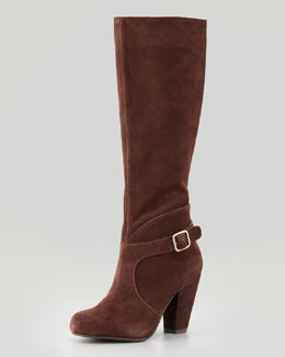 Seychelles Brainstorm Suede Buckled Boot