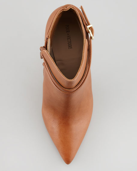 Candence Levy Pointy-Toe Bootie