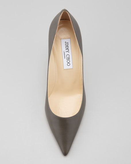 AGNES LEATHER PUMP