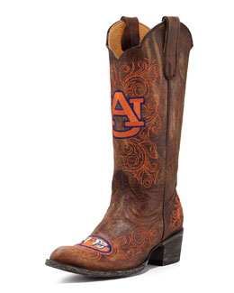 Gameday Boot Company Auburn Tall Gameday Boots, Brass