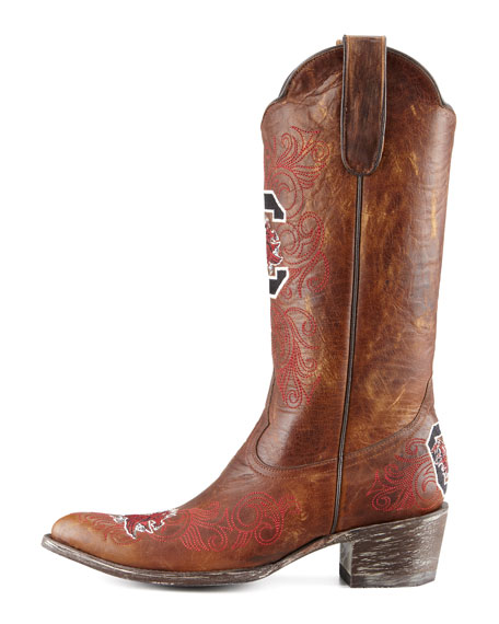 University of South Carolina Tall Gameday Boots, Brass