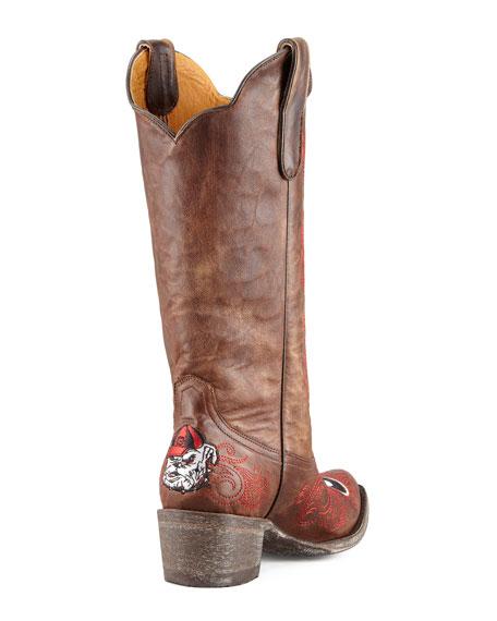 University of Georgia Tall Gameday Boots, Brass