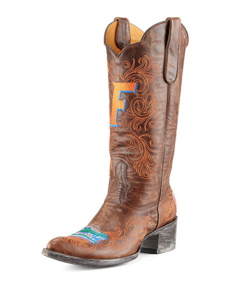 University of Florida Tall Gameday Boots, Brass