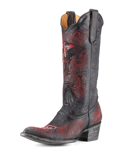 Gameday Boot Company Texas Tech Tall Gameday Boots, Black