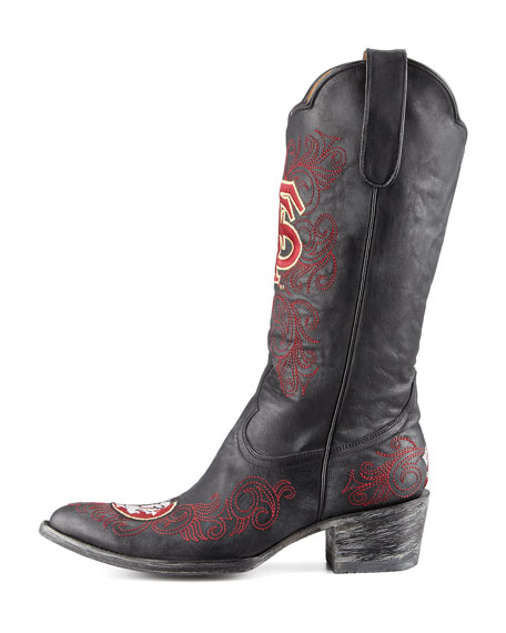 Florida State Tall Gameday Boots, Black