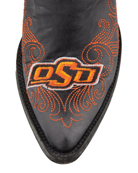 Oklahoma State Tall Gameday Boots, Black