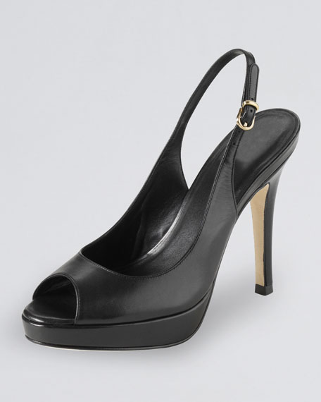 Cole Haan Air Stephanie Slingback, Black