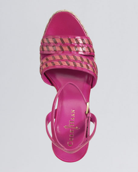 Air Vanessa Ankle-Strap Sandal, Candy Pink