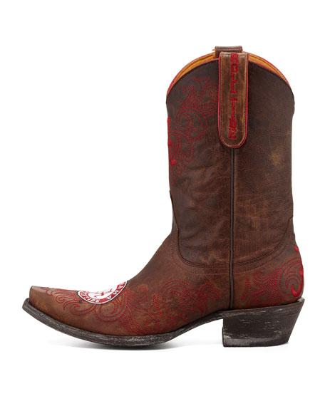University of Alabama Short Gameday Boot, Brass