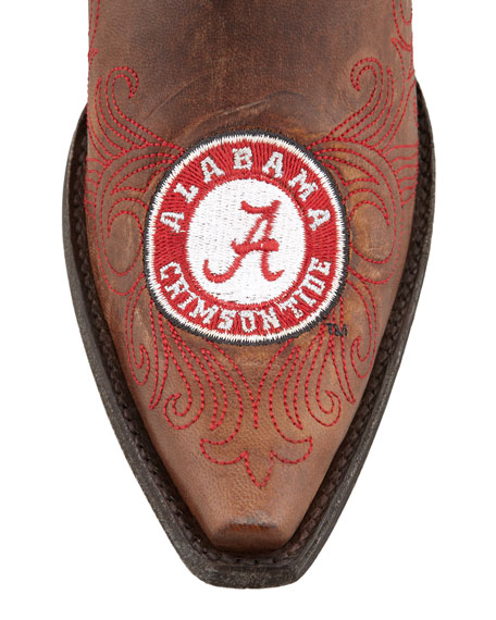 University of Alabama Short Gameday Boot, Brass