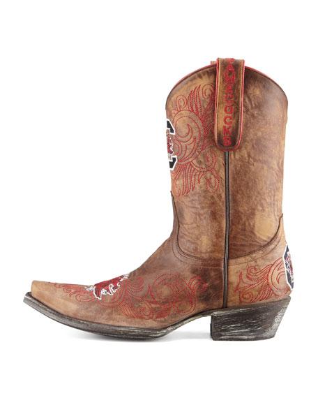 University of South Carolina Short Gameday Boots, Brass