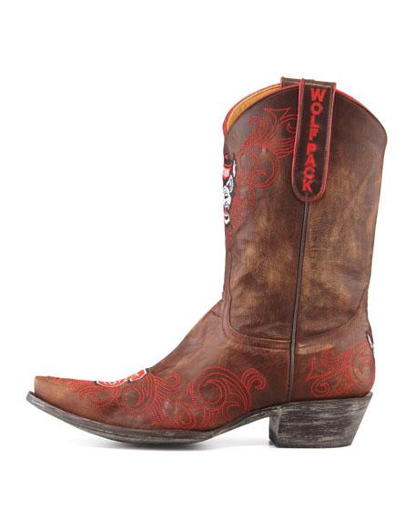 NC State Short Boot, Brass