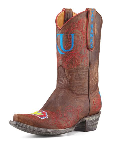 KU Short Boot, Brass