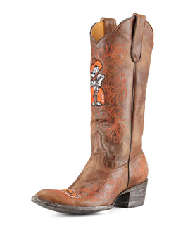 Gameday Boot Company Oklahoma State Tall Gameday Boots, Brass