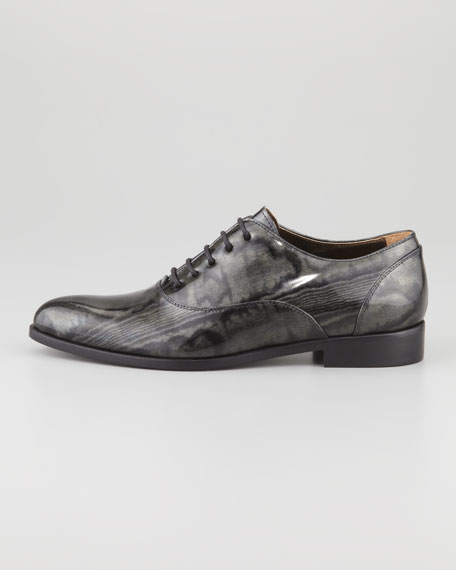 Moiré Patent Oxford, Black