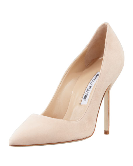 0f773580a1e Manolo Blahnik BB Suede 105mm Pump
