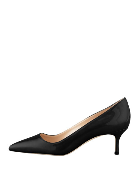 BB Patent 50mm Pump, Black (Made to Order)
