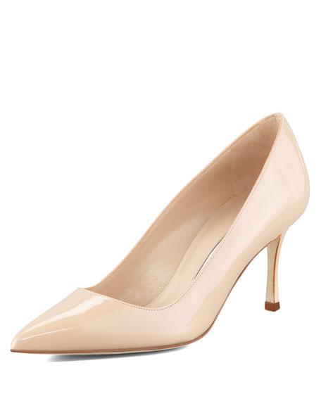 BB Patent 70mm Pump, Nude (Made to Order)