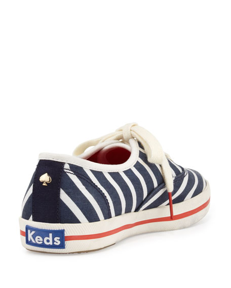 Keds Kick Striped Sneaker, Navy