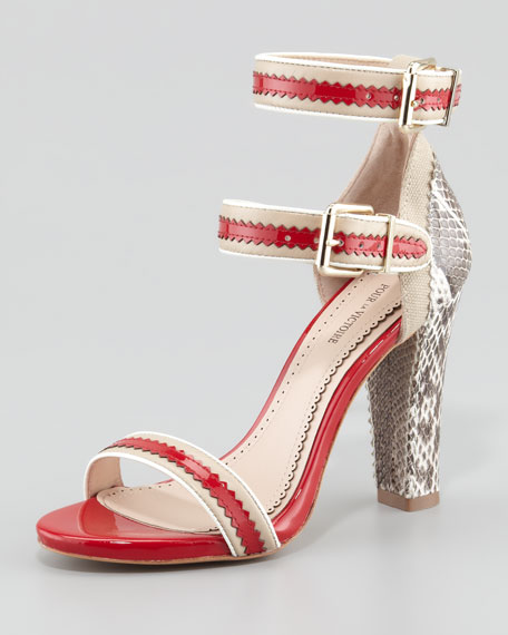 Veronica Ankle-Wrap Sandal
