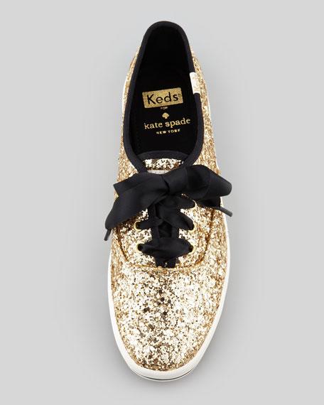 Keds Glitter Sneaker, Gold
