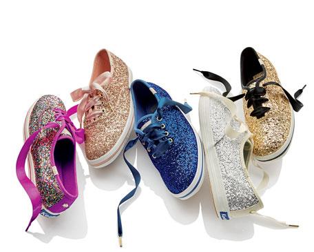Keds® glitter sneaker, multi