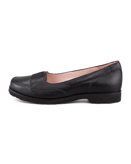 Jannah Leather Slip-On