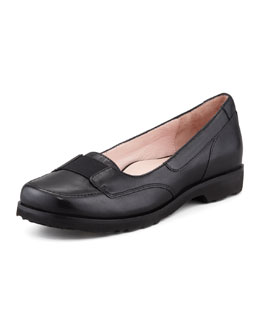 Taryn Rose Jannah Leather Slip-On