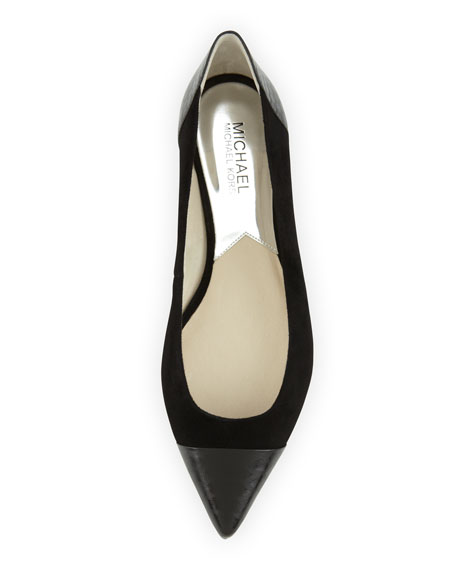 Leighton Pointed-Toe Flat