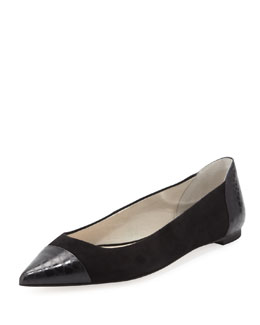 MICHAEL Michael Kors  Leighton Pointed-Toe Flat