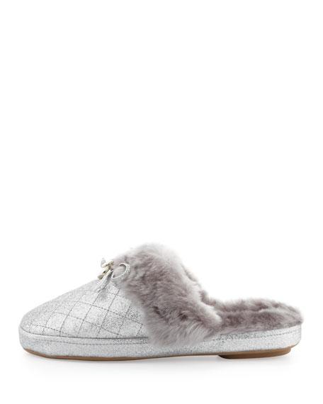 Carter Shimmery Plush Slipper