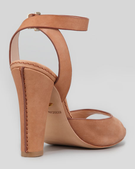 Violeta Leather Wrap Sandal