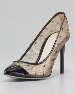 Jason Wu Dovima Lace Mesh Pump