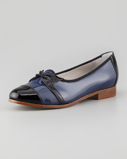 Jason Wu Dorian Patent Cap-Toe Loafer