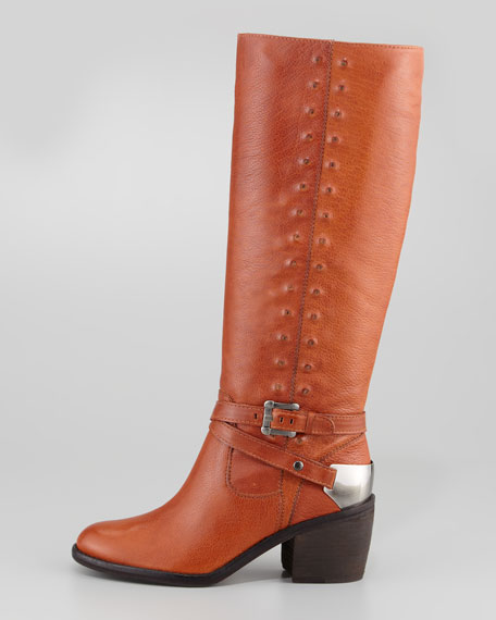 Bara Self-Studded Tall Riding Boot