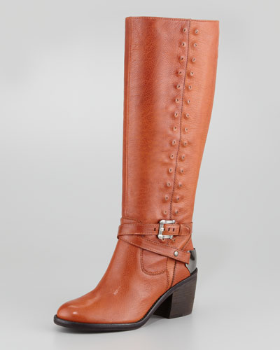 Donald J Pliner Bara Self-Studded Tall Riding Boot