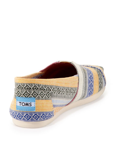 Nepal Printed Slip-On, Multicolor