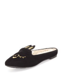 MARC by Marc Jacobs Sleeping Bunny Slipper, Charcoal