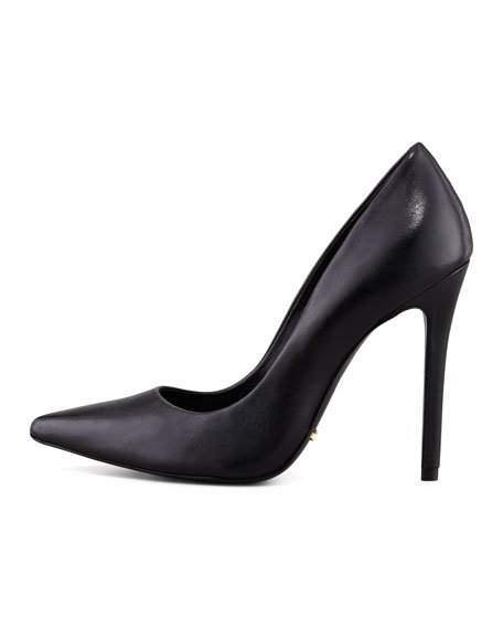 Gilberta Leather Pump, Black