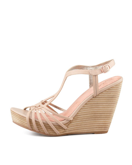 Gale-Force Wedge Sandal, Vachetta