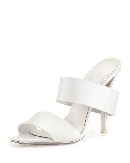 Masha Double-Strap Slide Sandal, Peroxide