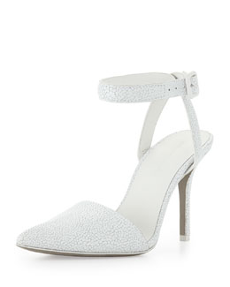 Alexander Wang Lovisa Pointed-Toe Pump, Peroxide