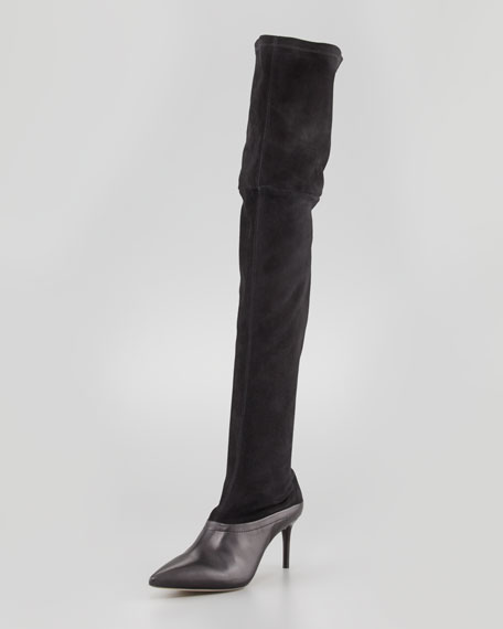 Over-the-Knee Stretch Boot