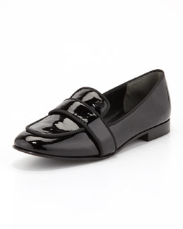Tory Burch Evette Patent Loafer, Black