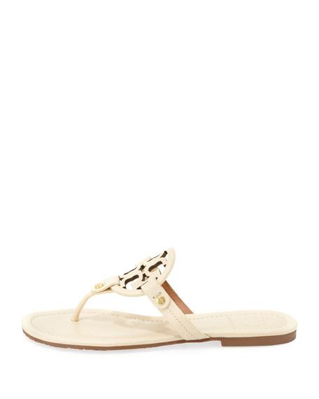 Miller Logo Slide Thong Sandal, Vanilla Cream