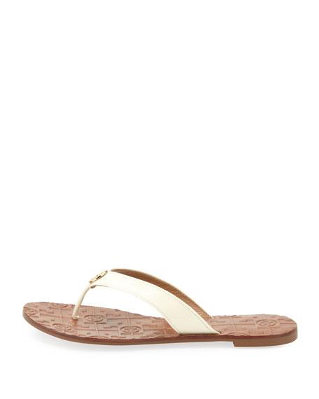 4ff6101122f Tory Burch Thora 2 Patent Thong Sandal