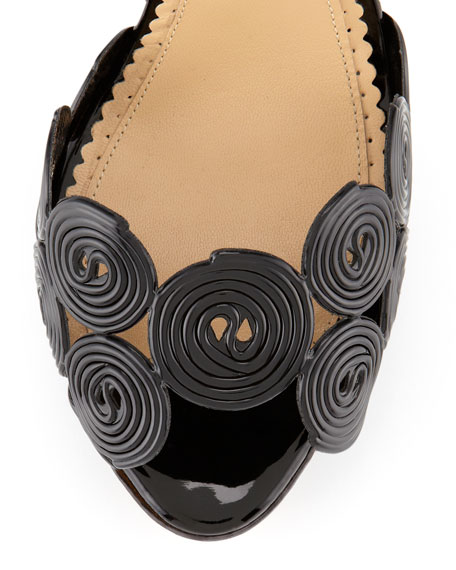 Candy Licorice Platform Sandal